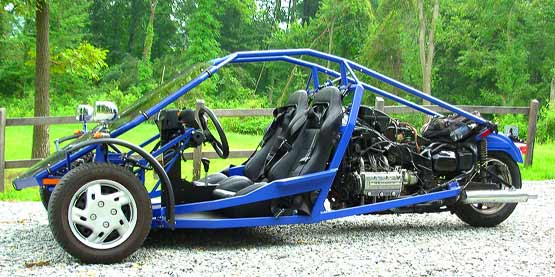 Homebuilt Trike: the Xzilarator